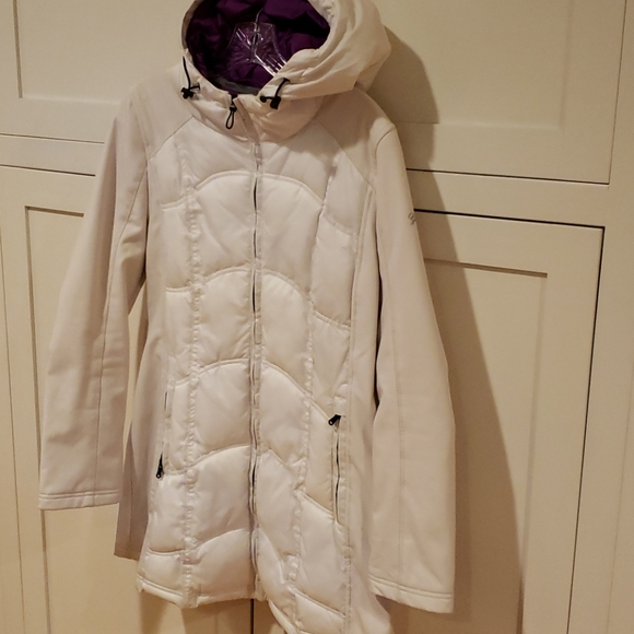 GUESS Cream Hooded Jacket